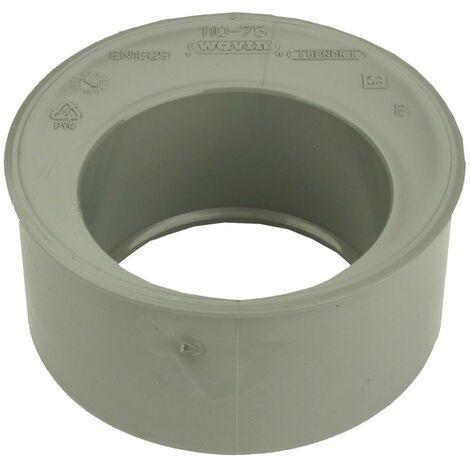 Tampon de réduction Mâle / Femelle PVC - Diamètres 125x100