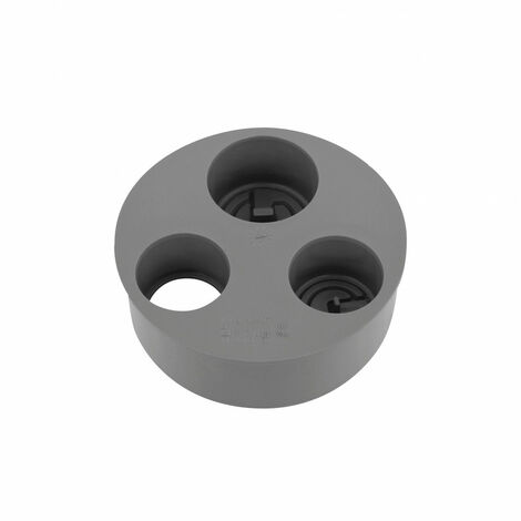 Tampón reductor PVC triple Diámetro MF 100 x 40 x 40 x 32 x 32 mm