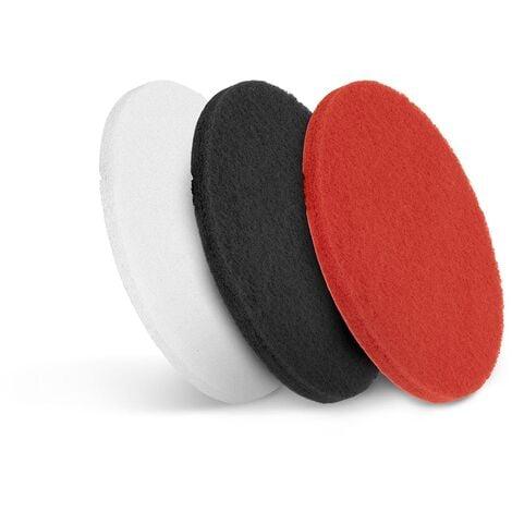 "Tampons Disques Pad Nettoyage Lavage Polissage Sol Autolaveuse Monobrosse 3x17"""