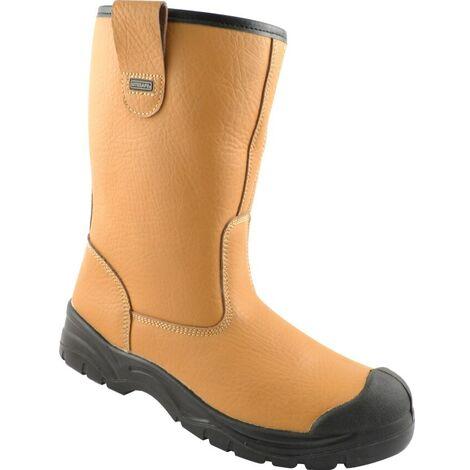 Tan Rigger Boots