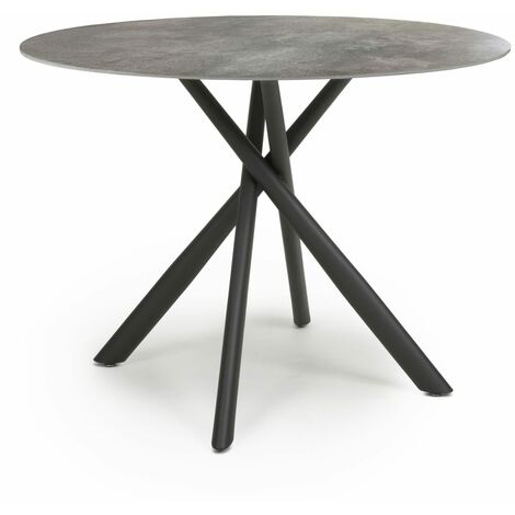 Tanavast Grey Round Dining Table