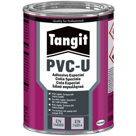 Tangit barattolo 1kg Colla Speciale per tubi pvc ridigo Henkel