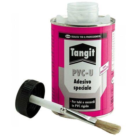Tangit barattolo 225gr Colla Speciale con pennello per tubi pvc ridigo Henkel