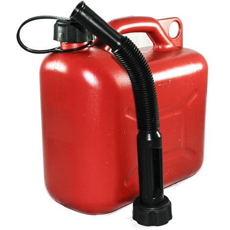 3.5 Tanica per carburante benzina diesel in plastica doppio uso litri 1.5