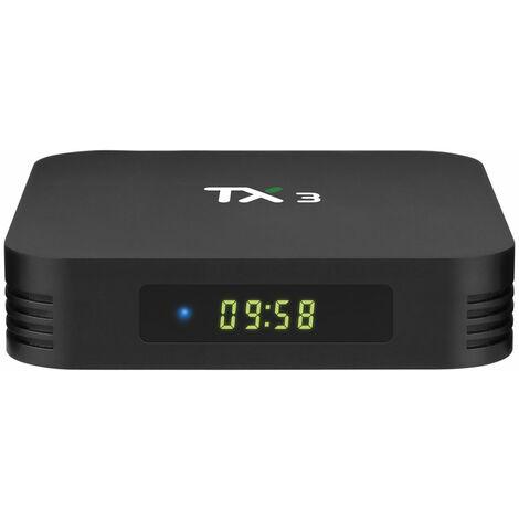Tanix TX3 S905X3 4GB RAM 32GB ROM 2.4G 5G WiFi Android 9.0 HDR10 8K 24fps 4K 30fps TV Box Soporte Control de voz