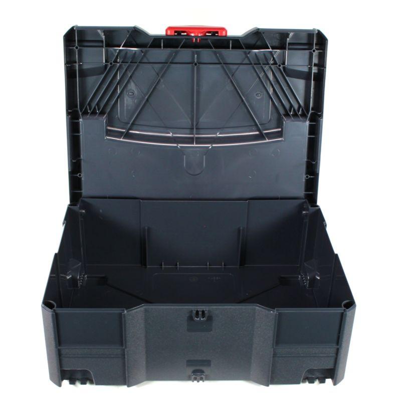 Koffersystem, stapelbar, Werkzeugkoffer TANOS Systainer T-Loc Gr 1 anthrazit
