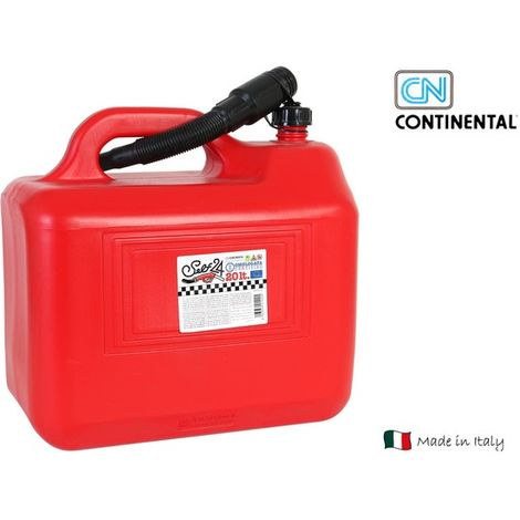 Tanque Gasolina Con Embudo 20 L