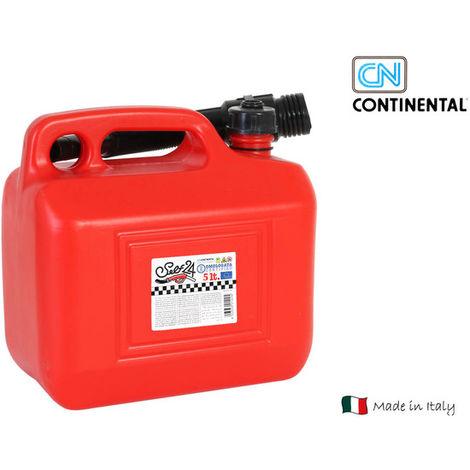 Tanque Gasolina Con Embudo 5 L