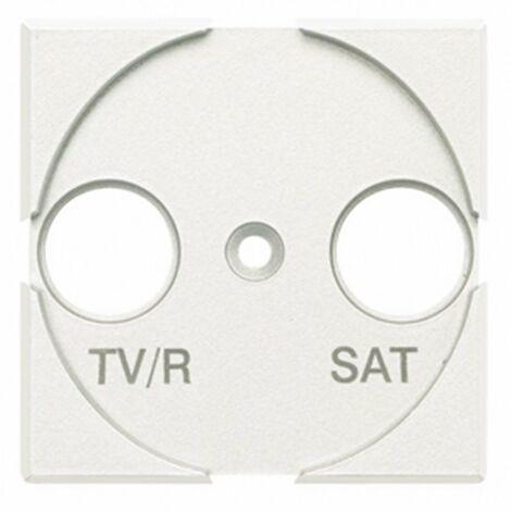 Tapa antena TV/R-SAT Bticino Axolute HD4212 Blanco