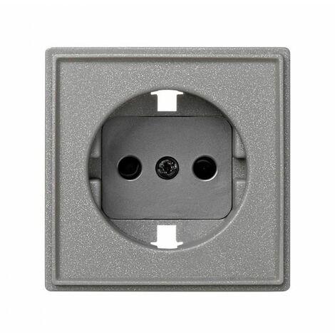 "main image of ""Tapa base de enchufe gris esmeril SIMON 27 Scudo 2705041-063"""
