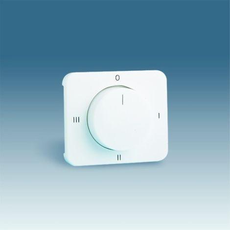 Tapa + boton conmutador rotativo aluminio SIMON 75079-33