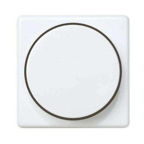 Tapa boton regulador electronico Simon 27 Play Blanco