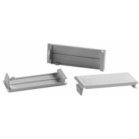 Tapa ciega aislante para separación de mecanismos o para cubrir ventanas libres Solera 100
