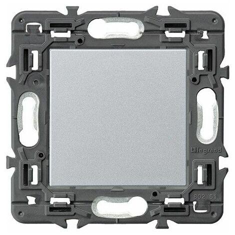 Tapa ciega Legrand 741380 serie Valena Next color aluminio