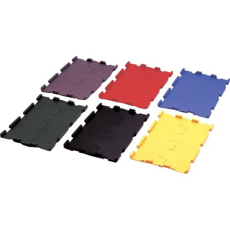 Tapa de bisagra negro para VTK 600 pack de 4 unidades