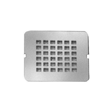 Tapa de drenaje estándar ideal para juego de drenaje de 90 mm, color: gris cuarzo - KV169FS