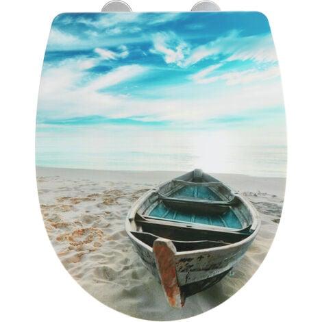 Tapa de WC Boat con superficie de alto brillo