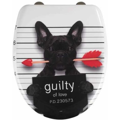 Tapa de WC Guilty Dog WENKO