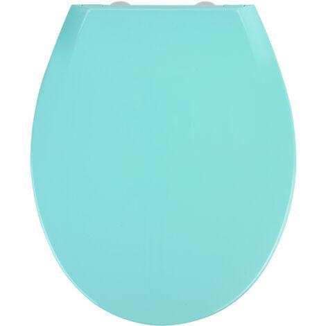 Tapa de WC Kos azul, Easy Close termoplástico WENKO