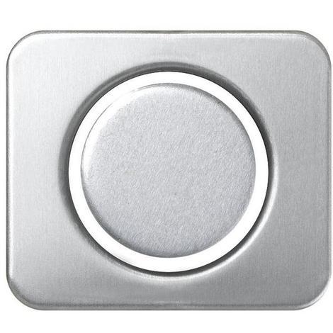 Tapa + disco mecánico tacto Serie 75 Aluminio