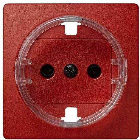 Tapa enchufe schuko 2P+TT rojo SIMON 73 LOFT 73041-67