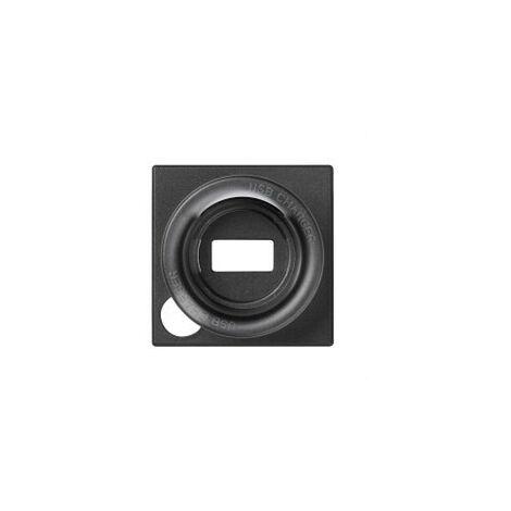 TAPA P/CAR.USB MICRO USB S.82 GRAFITO
