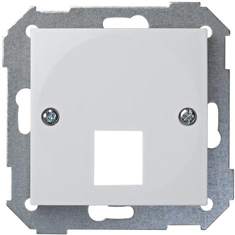 Tapa para adaptador/a rojo 45A Serie 28 Blanco Nieve