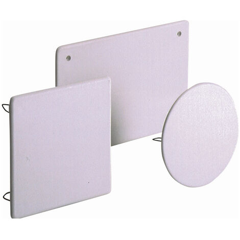 Tapa para cajas de empalme y derivación para ref. 363 con tornillos (Solera 63T)