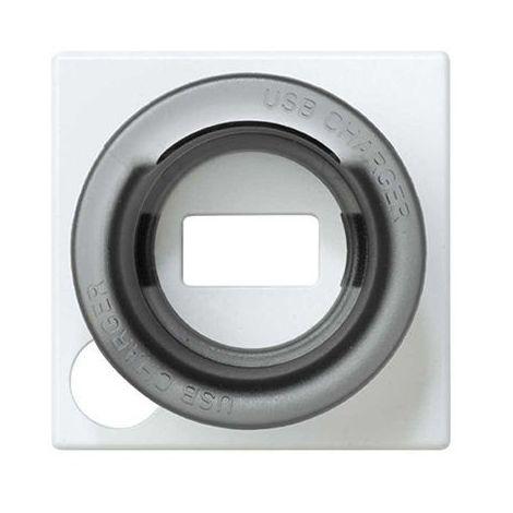 Tapa para Cargador USB 1 Conector Simon 27039-35