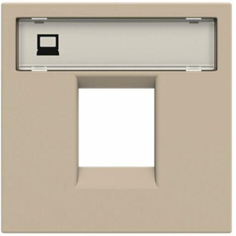 Tapa para conector informatica Niessen N2218.1 CV serie Zenit color Cava