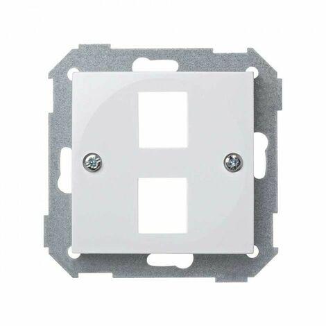 Tapa para conector RJ45 doble BLANCO Simon 28 28089-30