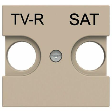 Tapa para toma de Television y satelite Niessen N2250.1 CV serie Zenit color Cava