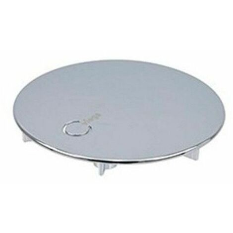 Tapa protectora y embellecedora para sifón Viega de 3 agujeros diámetro 115