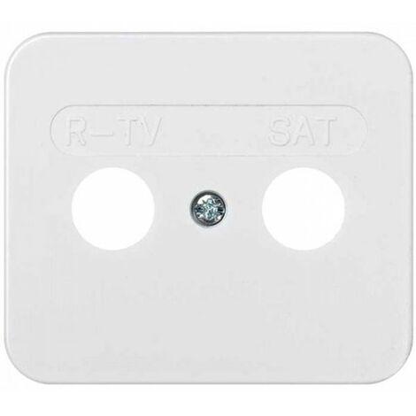 Tapa R-TV/SAT blanco Simon 75 75097-30