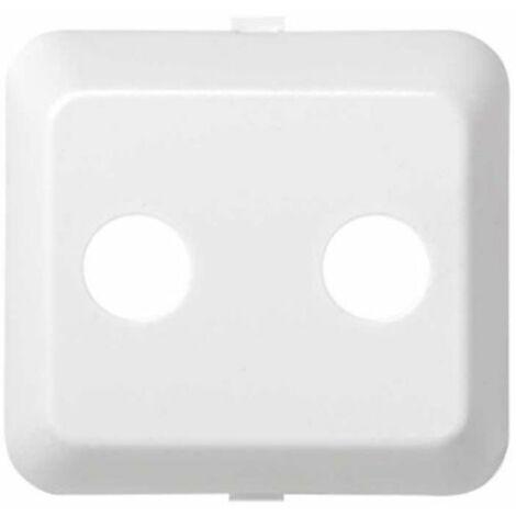 Tapa R-TV+SAT blanco Simon73 73053-30
