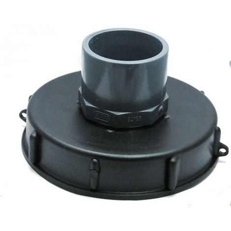Tapa Rosca Diam. 150 mm. Para Depósitos IBC GRG 600/1000 L. Con entrada PVC 63/75
