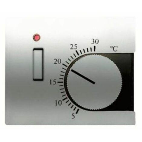 Tapa Termostato Calefacción con Interruptor olas 8440.1 tt Niessen Olas Titanio