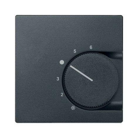 Tapa termostato elegance Antracita SCHNEIDER ELECTRIC MTN536214