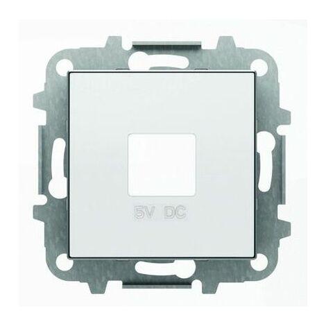 Tapa toma cargador USB blanco Niessen Sky 8585 BL
