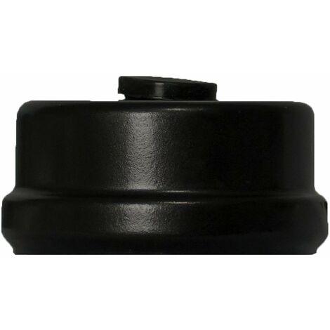 Tapa tubo estufa pellet vitrificado Ø80 mm