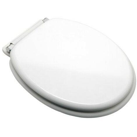 Tapa wc blanco caida amortiguada