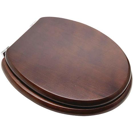 Tapa wc color madera nogal