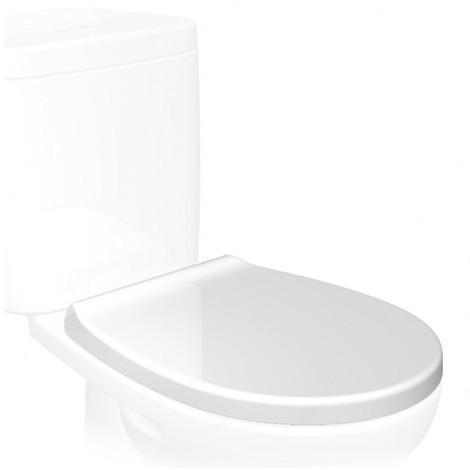 Tapa wc inodoro caida suave pvc bl optima soft close tatay