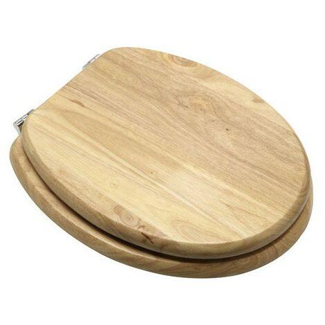 Tapa wc madera natural