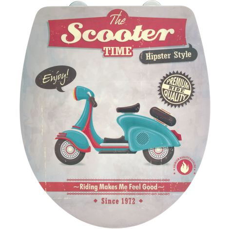 Tapa WC Vintage Scooter
