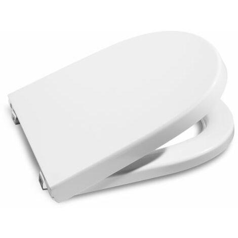 Tapa y aro para inodoro con caída amortiguada Supralit® - Serie Meridian , Color Blanco - Roca