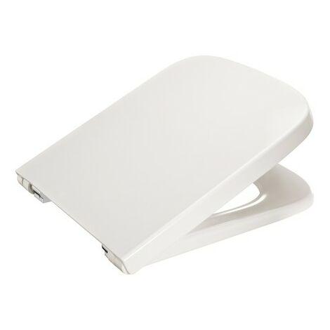 Tapa y asiento para inodoro compacto con caída amortiguada DAMA - ROCA - Color: Pergamon