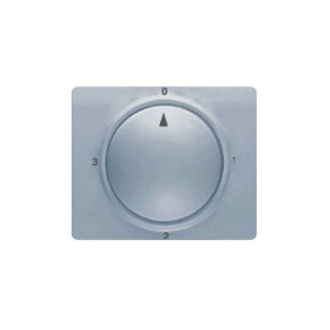 Tapa y boton conmutador rotativo aluminio prusia BJC Mega 22796-AP