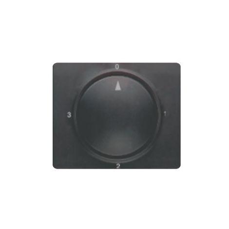 Tapa y boton conmutador rotativo antracita cosso BJC Mega 22796-AC