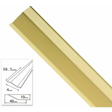 tapajuntas adhesivo para ceramica aluminio oro